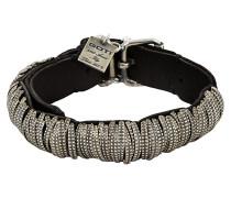 GOTI Armband BR124 schwarz / silber