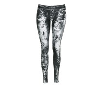 Rock & Republic Damen Leggings black/white