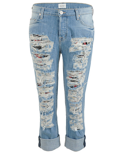 Boyfriend Jeans CROP DAX blue used
