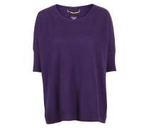 Oversized Pullover violett