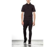 Herren Polo Shirt schwarz
