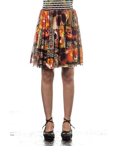 Soleil Damen Tüllrock CARACAS multicolour