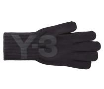 Damen Handschuhe LOGO GLOVES schwarz