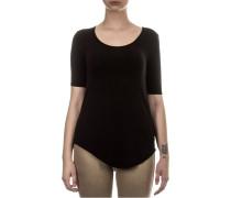 Damen T-Shirt O35SCH-K schwarz