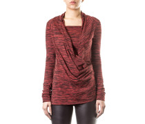 Anglomania Damen Shirt Asymmetrisch rot