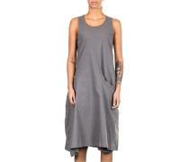 Stretch Kleid grau