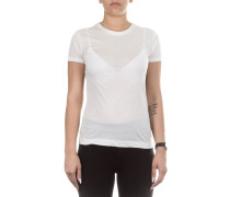 Baumwoll T-Shirt weiß