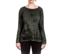 Damen Kaschmir Pullover grün