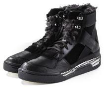 Leder Sneakers HELD II black