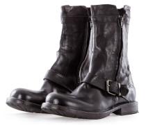 Herren Leder Boots CUSNA NERO schwarz