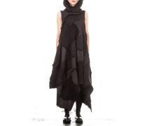 ISSEY MIYAKE Plissee Kleid schwarz