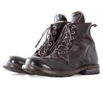 MOMA Herren Leder Ankle Boots CUSNA T.MORO braun