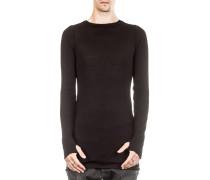 Pullover Rundhals schwarz