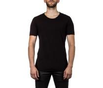 Thom Krom Herren Rundhals T-Shirt schwarz