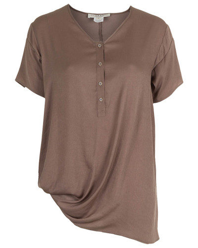 AVH by Anne Valerie Hash 1/2 Arm Bluse PIOU TOP mudd Gr. S