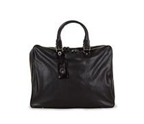 Herrentasche aus Leder schwarz