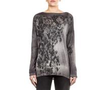 Damen Kaschmere Pullover grau