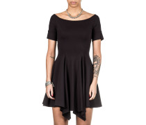 Damen Jersey Kleid schwarz