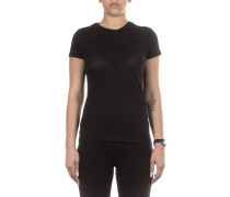 Baumwoll T-Shirt schwarz