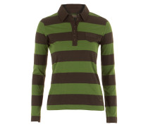 Thomas Burberry Poloshirt grün