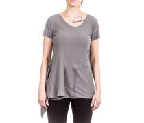 Damen T-Shirt Avantgarde grau