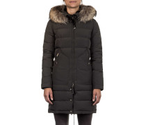 Damen Daunen Kurzmantel LIGHT LONG BEAR olive