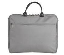 Messenger Bag Labtoptasche grau