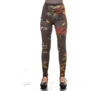 Soleil Damen Leggings multicolour
