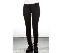 Damen Jersey Hose schwarz
