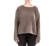 Damen Kaschmir Pullover braun
