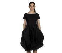 Dip Kleid mit Ballonrock schwarz
