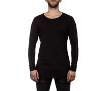 Thom Krom Herren Langarm Shirt schwarz