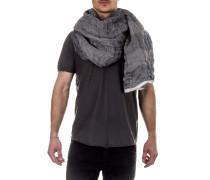 Leinen Schal blau