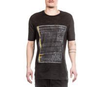 T-Shirt mit Print schwarz