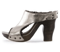 Damen Sandaletten bronze Gr. 37