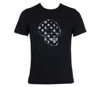 Lala Berlin Herren T-Shirt SKULL schwarz Gr. S
