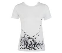 Damen T-Shirt LIPSTICKS weiß