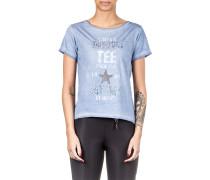Damen T-Shirt INDI blau