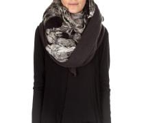 Damen Kaschmir Schal grau