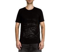 Dip Herren T-Shirt schwarz