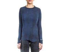Baumwoll Shirt blau