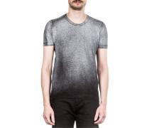 Leinen T-Shirt Coated grau