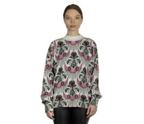 Pullover mit Print multicolor
