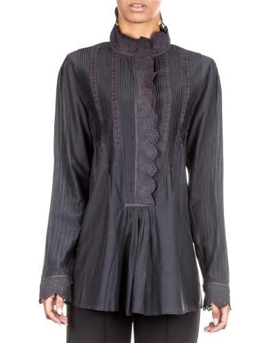 Damen Bluse ROSALIND grau