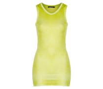Damen Baumwoll Top gelb