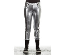 Damen Leggings BRAZIL silber