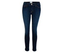 THE SIDE SLIT STILETTO Jeans District blau