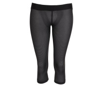 Leggings black Mesh Gr. S