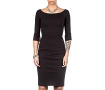 Damen Jersey Kleid lang schwarz
