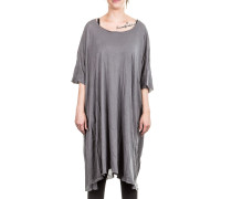 Damen Shirt Oversized grau